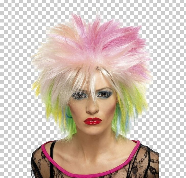 1980s Costume Party Wig Clothing PNG, Clipart, 80s, 1980s.