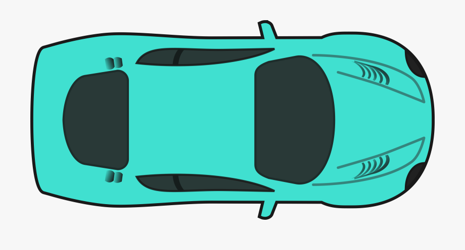 Best Car Clipart Top View.
