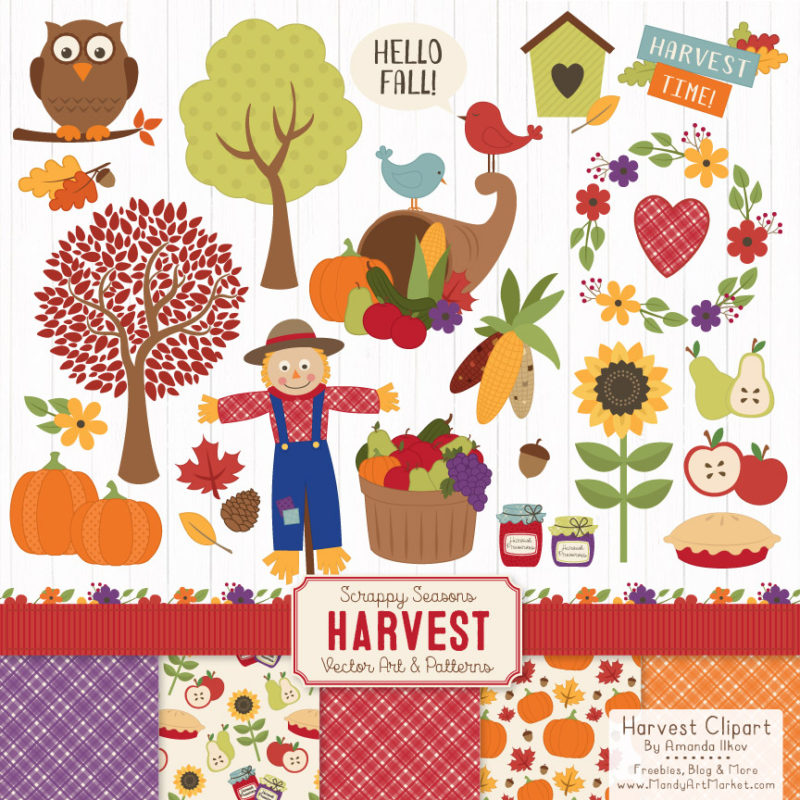 Free Autumn Clipart is Recycled But Still Fun.