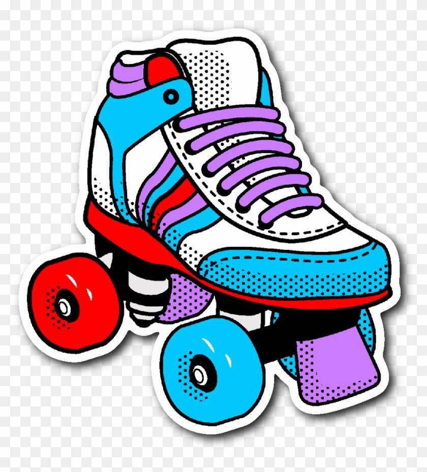 Download Free png 80s Roller Skating Png.