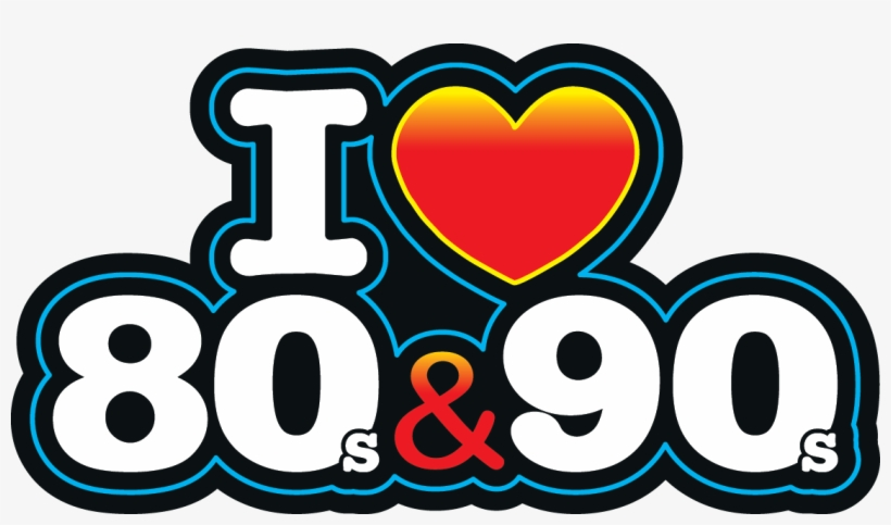 I Love The 80s Logo Png.