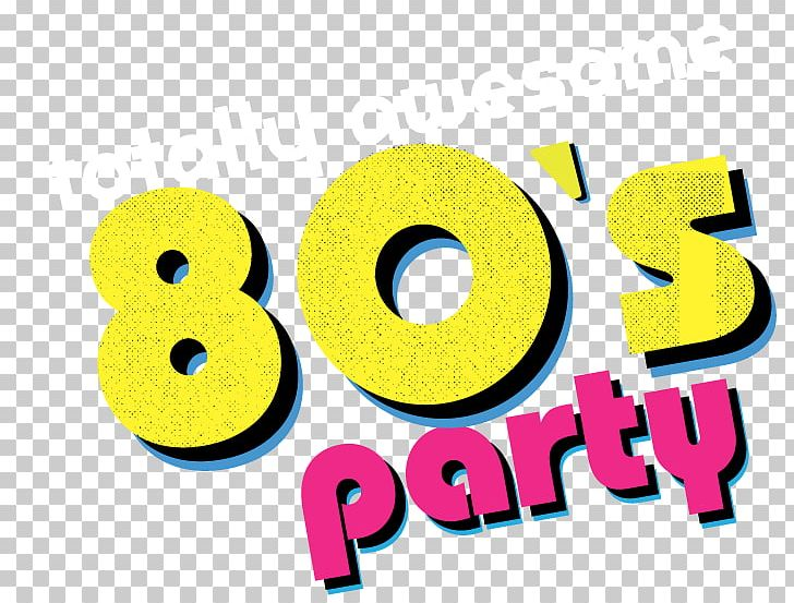1980s Dance Party Logo PNG, Clipart, 80s, 1980s, Back To The 80s.