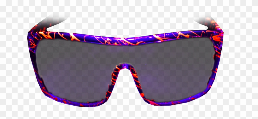 Stoopid Rad Sunglasses Hand.