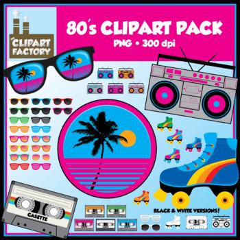 Clip Art: 80\'s Clipart Pack.