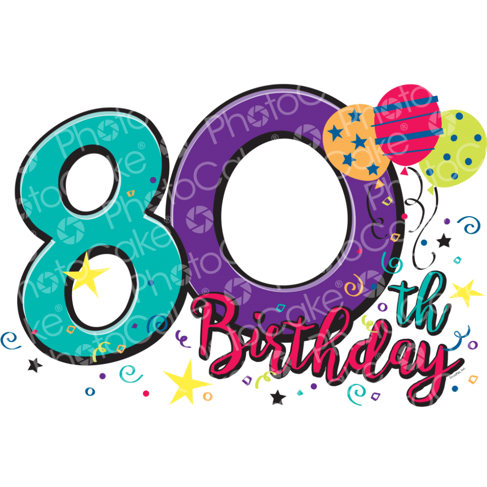 Happy 80th Birthday.
