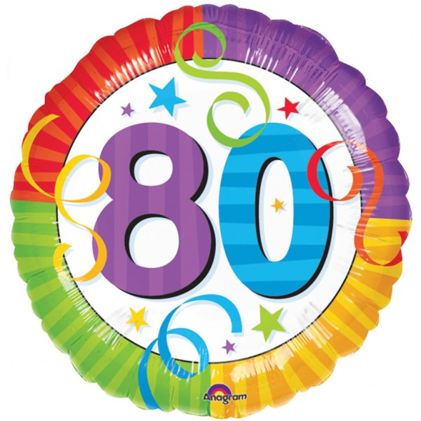 80th Birthday Cake Clipart.