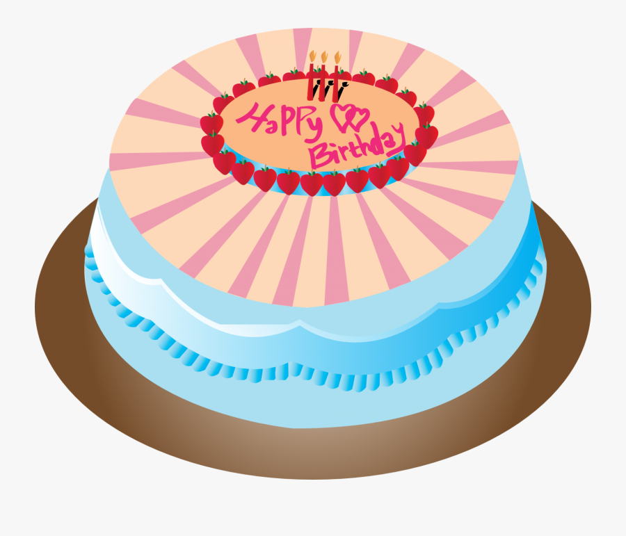 80th Birthday Cake Png , Free Transparent Clipart.