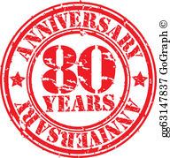 80Th Birthday Clip Art.