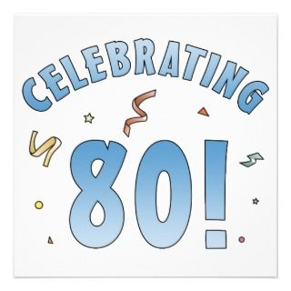 80th Birthday Clip Art On PopScreen.