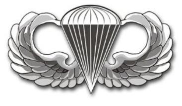 Airborne Creed.