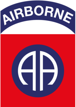82nd Airborne Honor Guard.