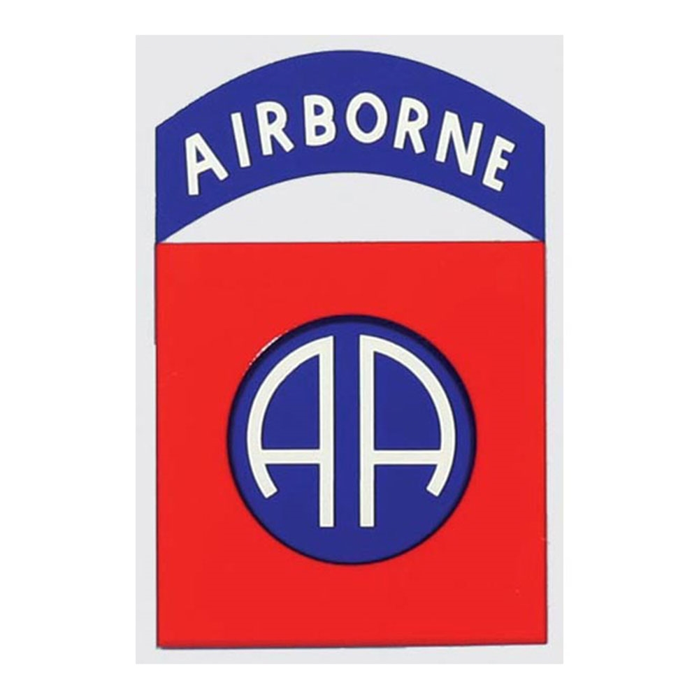 US Army 82nd Airborne Decal D67.