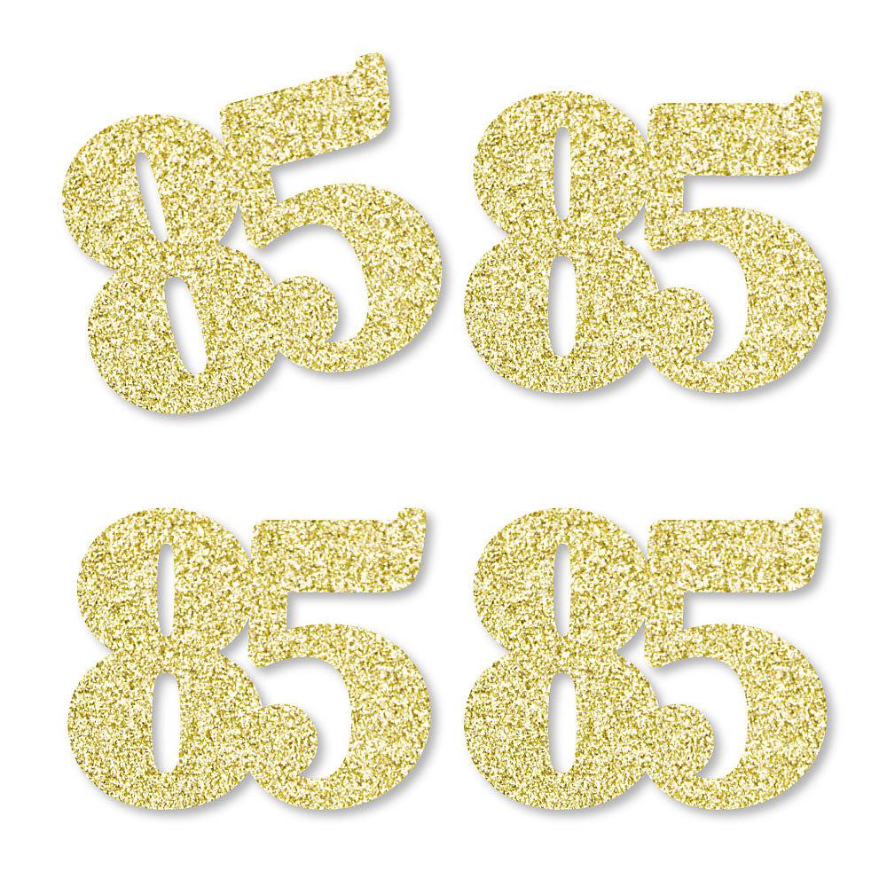 Gold Glitter 85.