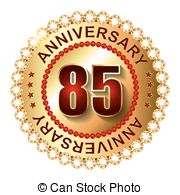 85 years Vector Clip Art EPS Images. 298 85 years clipart.