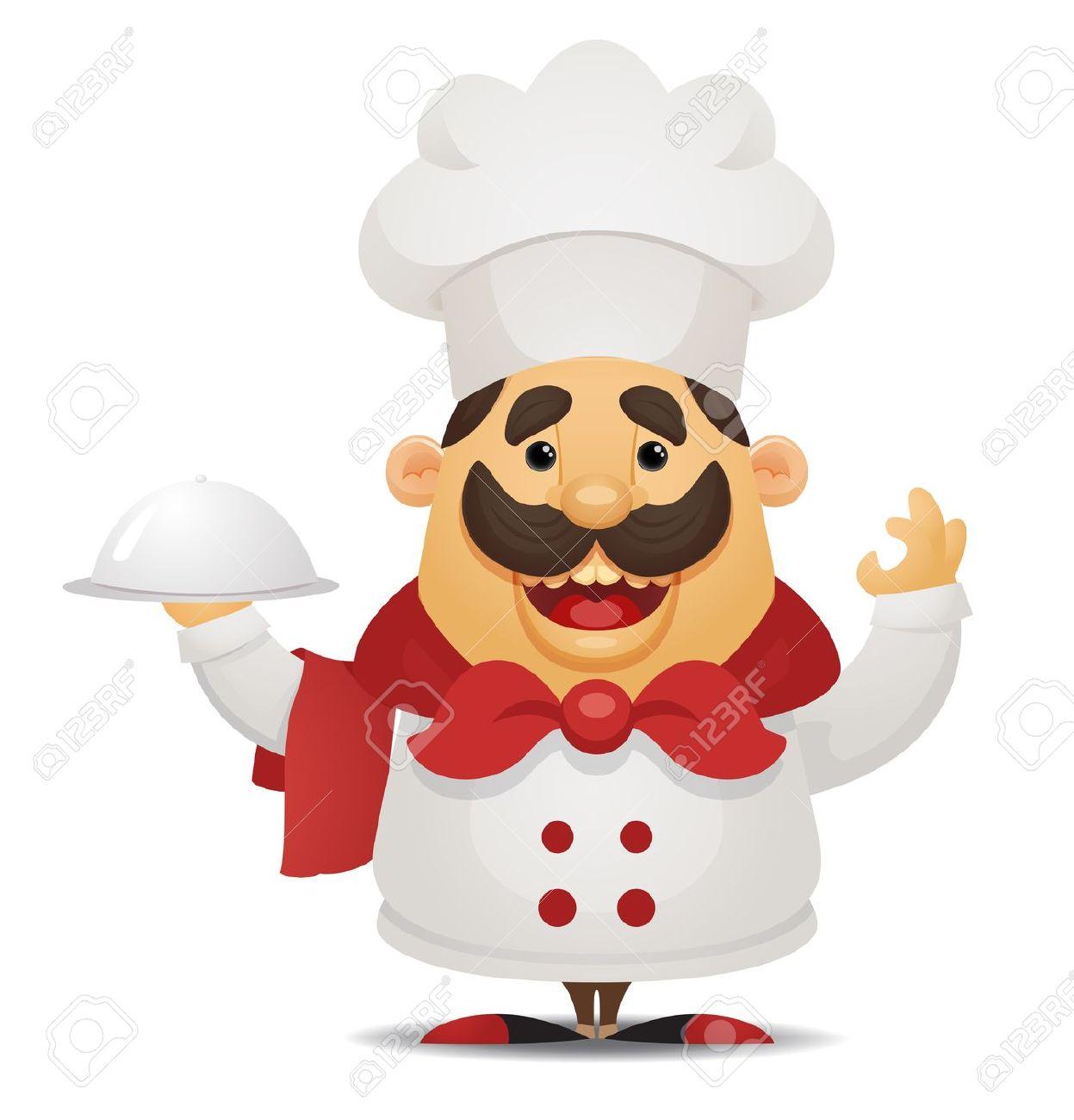 Italian Chef Clip Art