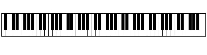 Amazon.com: Home Comforts LAMINATED POSTER Piano Keyboard.