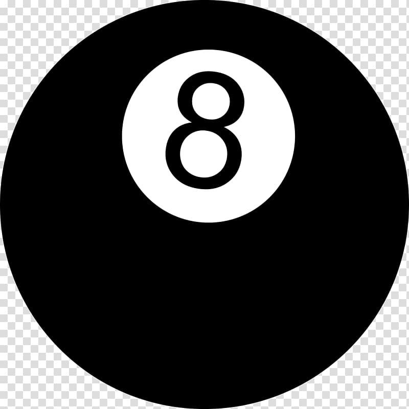 Number 8 billiard ball illustration, Magic 8.