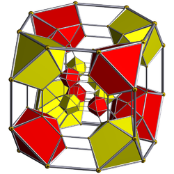 Runcinated tesseracts.