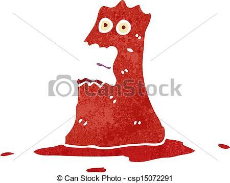 Lava Monster Clipart.