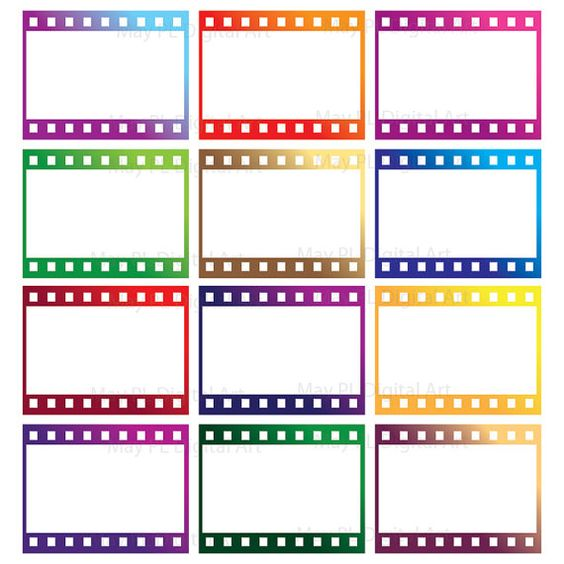 8mm Film Filmstrip Photographer Frames Clip Art Photography.