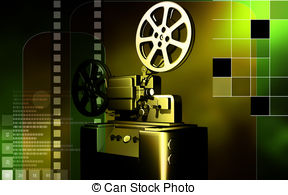 8mm film projector Clipart and Stock Illustrations. 67 8mm film.