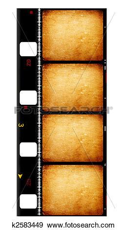 Stock Illustration of 8mm Film k2583449.