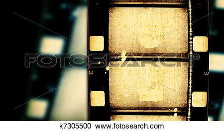 Stock Illustrations of 8mm Film k7305500.