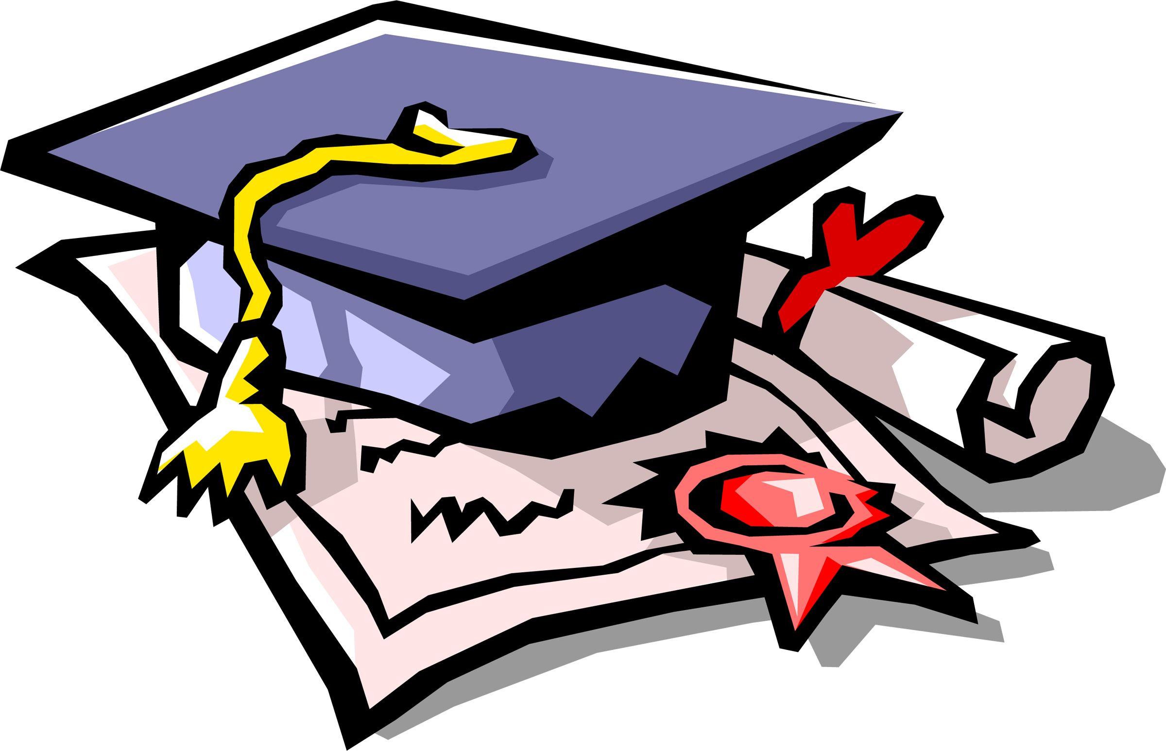 Graduation Symbols.