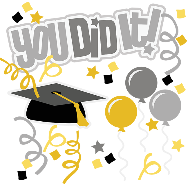 You Did It! SVG graduation svg file graduation clipart cute.