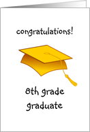 8th Grade Graduation Clip Art.