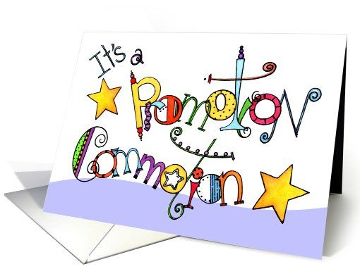 Middle School Promotion Party Invitation card.