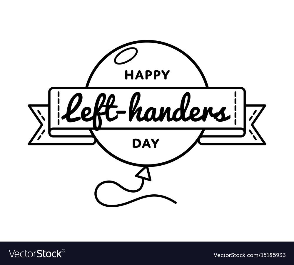 Happy left.