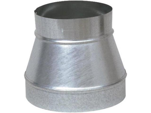 Imperial Manufacturing GV0787 7 x 6 in. Galvanized Taper Reducer & Increaser.