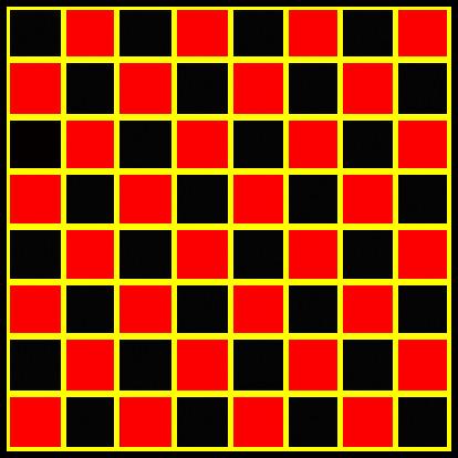 Original checker board 8x8 by nitch.