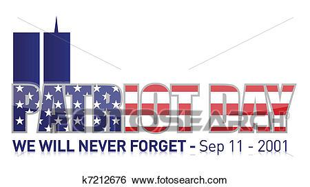 Patriot Day / september 11 Clip Art.