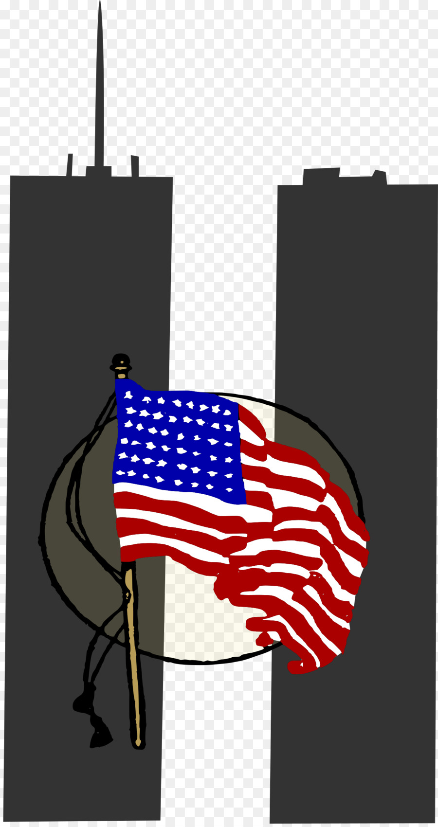 Patriot Day png download.