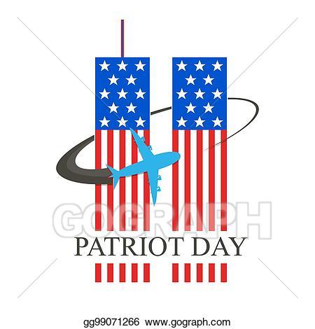 EPS Illustration Patriot Day September 11 Vector Better Clipart.
