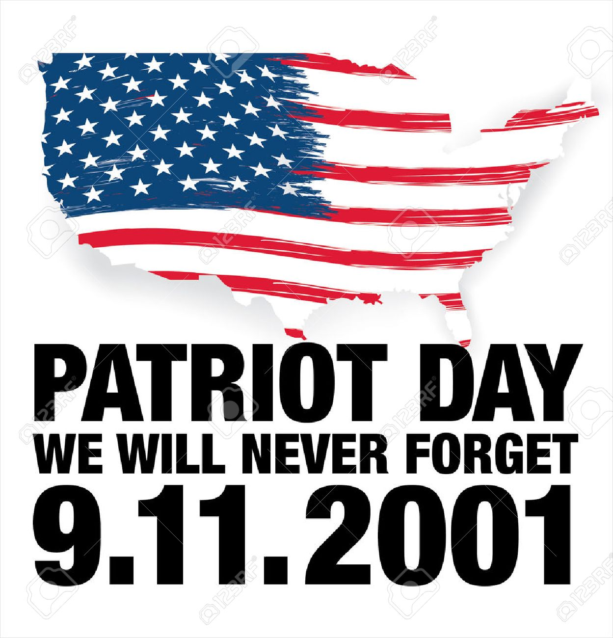 Patriot Day. September 11. We will never forget.