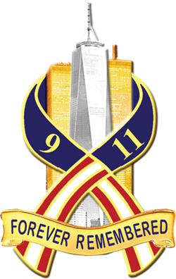 Forever Remembered 9/11 Pin.