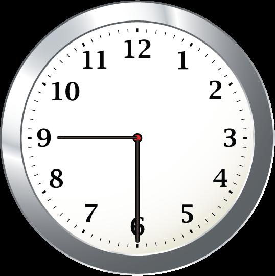 9 30 Clock Clipart.