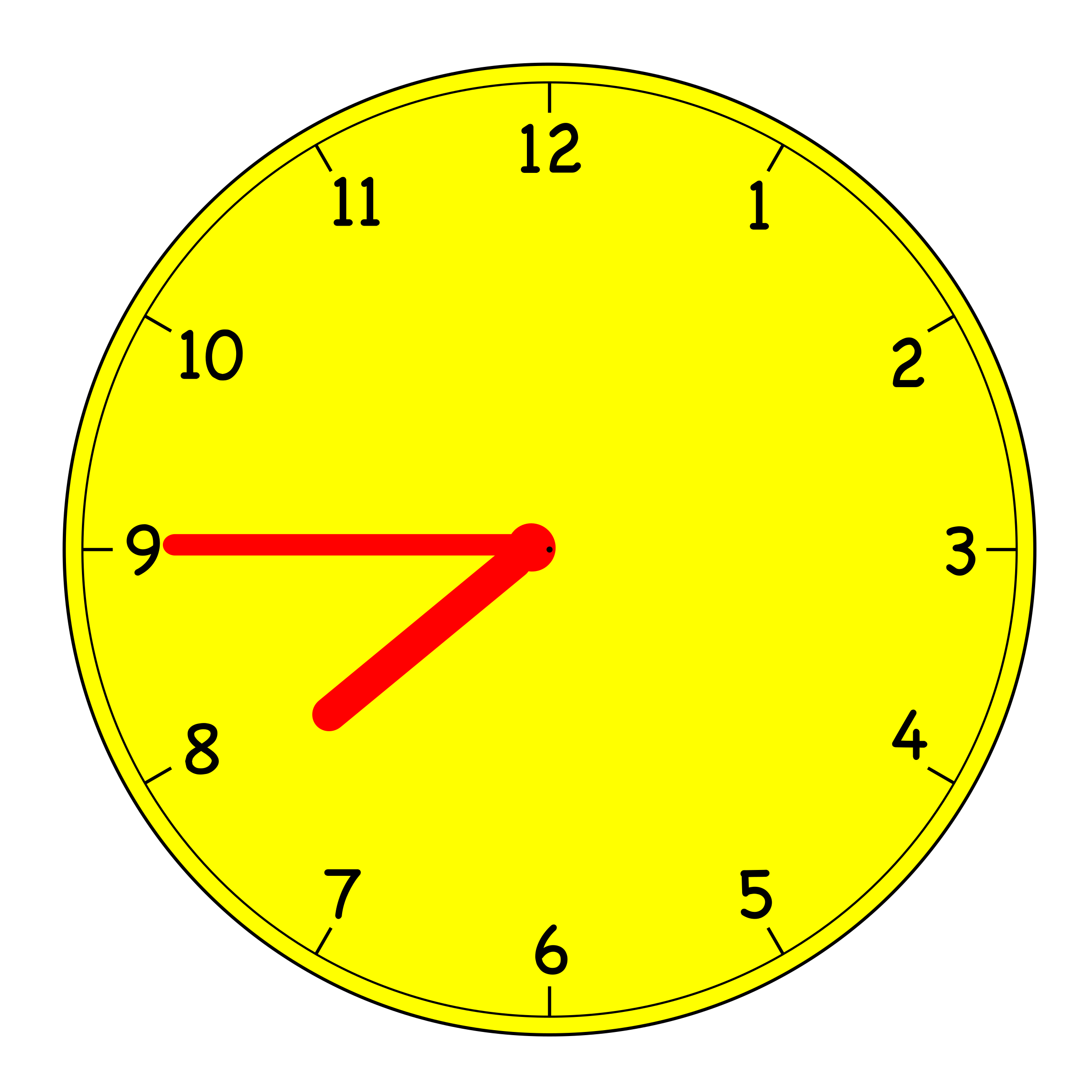 Digital Clock Clipart 9 45.