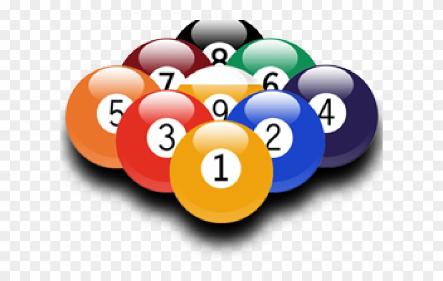 Billiard 9 Ball Png Clipart (#1125638).