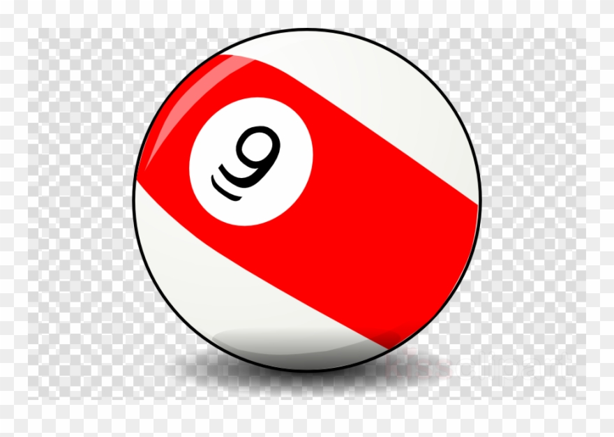9 Ball Clipart Billiard Balls Billiards Nine.