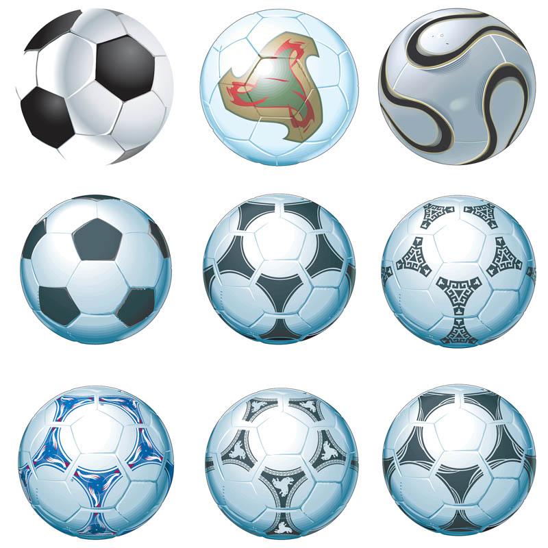 Soccer ball vector.