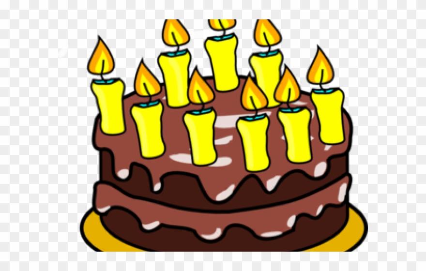 Birthday Candles Clipart Birthday Cake 9.