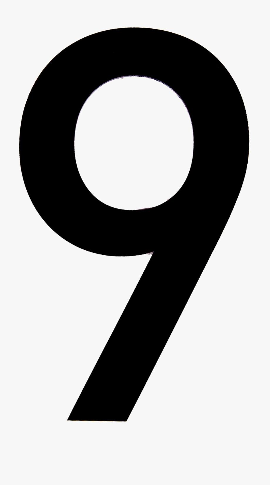 9 Number Png Transparent Image.