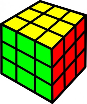 Rubik cube clip art Free vector for free download (about 9.
