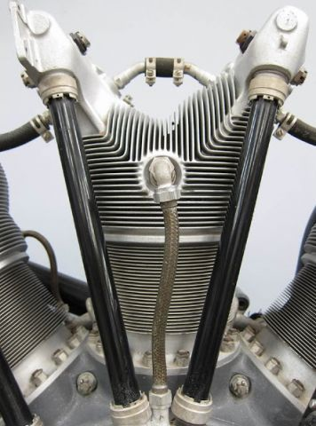 Sutton 9 cylinder radial; Man Look at all the Camshafts!! Need.
