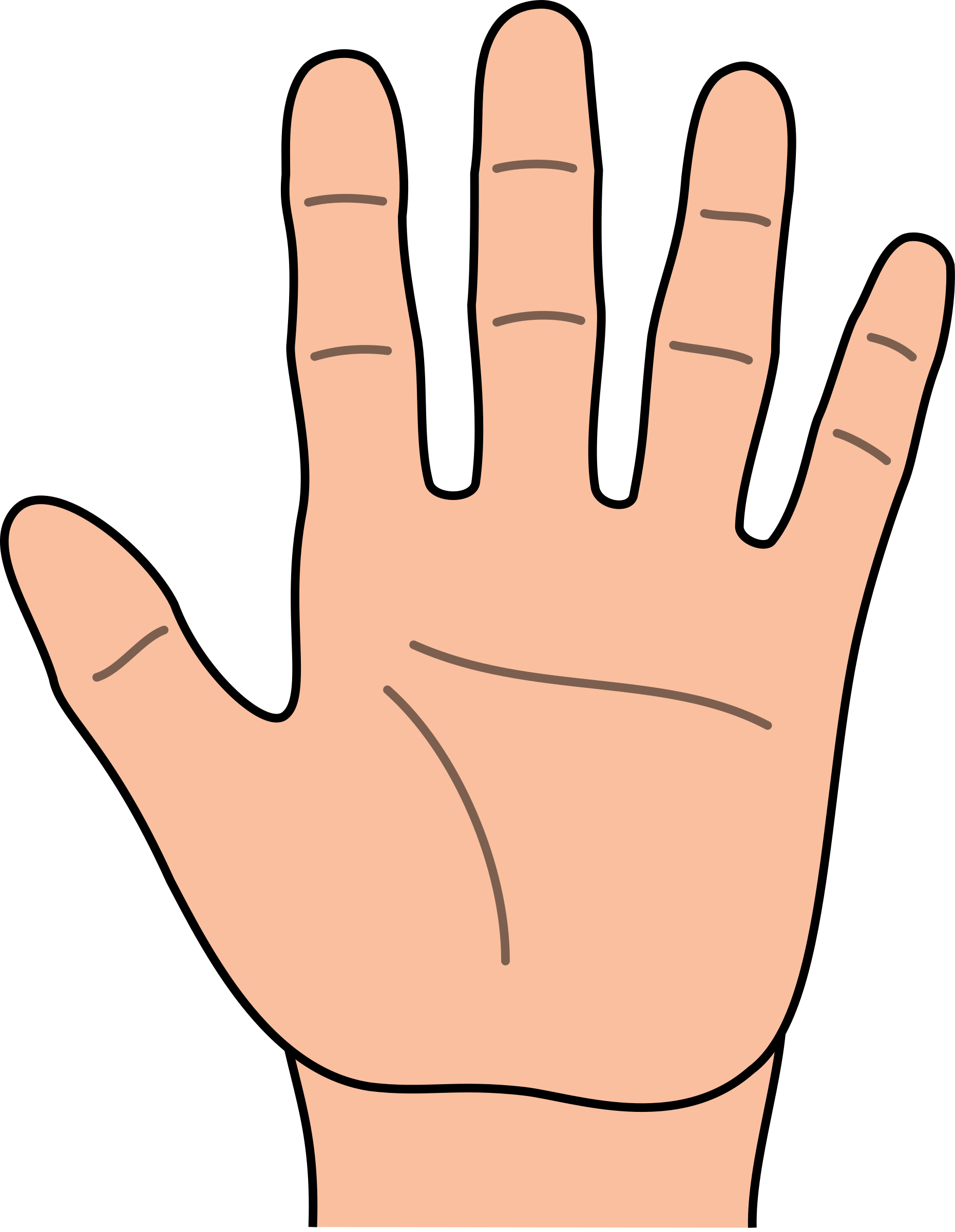 Fingers clipart 9 object, Fingers 9 object Transparent FREE.