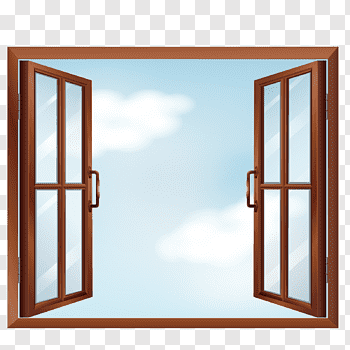 Open window cutout PNG & clipart images.